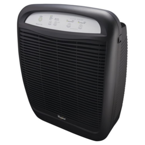 Whirlpool AP51030KB Whispure True Hepa Air Purifier Slate Black