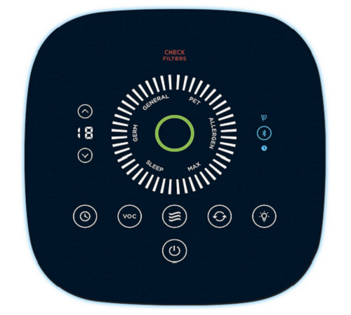 Honeywell Bluetooth Smart Air Genius 6 Air Cleaner And Odor Reducer