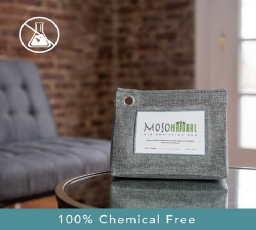 Moso Natural - The Original Air Purifying Bag 300g With Chemical-Free Odor Eliminator