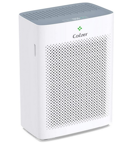 COLZER Air Purifier For 4-Stage With True HEPA And Activated Carbon Filters